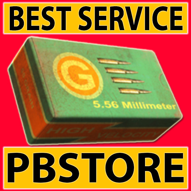 ★★★(PC) 5.56 Round x100 - FAST DELIVERY (15-20 mins)★★★
