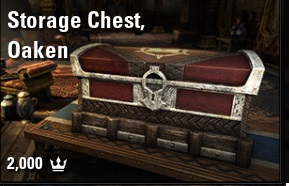 [PC-Europe] storage chest oaken (2000 crowns) // Fast delivery!