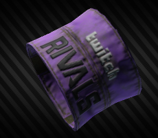 Twitch Rivals 2020  violet armband