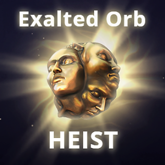 Exalted orb [Heist Softcore] - Cheap&Fast! (1-5min delivery) ★★★★★