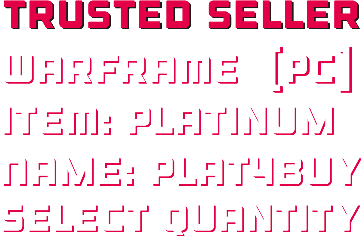 Platinum for PC! Fast delivery if I am online!