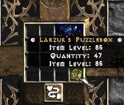 Larzuk's Puzzlebox / Puzzle Box - Project Diablo 2 SC (Season 3)