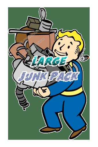 Large junk pack [50.000 each junk + 15.000 each flux]