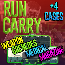 ❤️【LAB RUN ║+4 CASES║TOP PROFIT GUARANTEED!】ALL YOURS ▶Cases : Weapon, Grenade, Magazine, Medical❤️