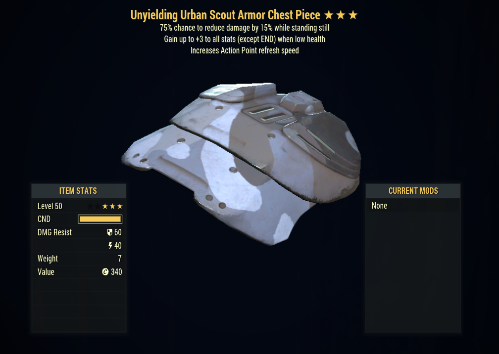 [PC] Unyielding Sentinels Armor FULL SET + MASK (Urban Scout, 5/5 AP Refresh)  - Fast Delivery