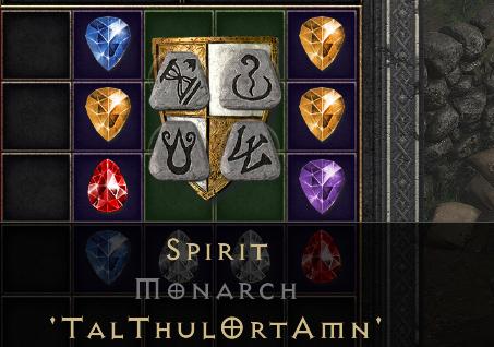★[PC] Monarch shield Spirit  - D2R - SC - INSTANT DELIVERY★