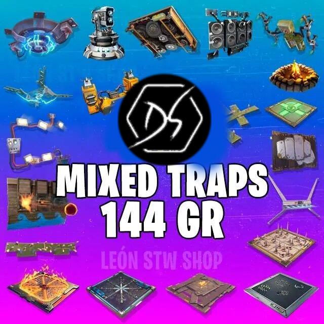 Bundle   Traps 144 Mix