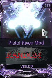 [PC/Steam] Pistol Riven mod pack X6 Veiled (MR 8)  // Fast delivery!