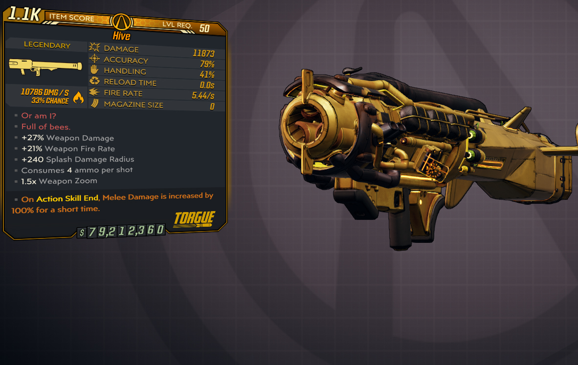 [PC] Hive / 11k DMG / 5.44 Fire rate / Infinitie Ammo, No Reload - Fast Delivery