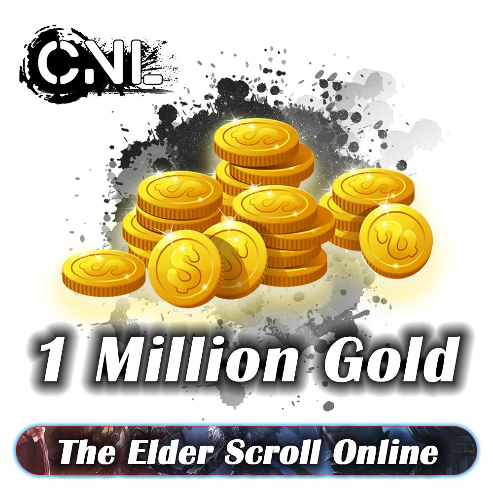 [ PC - EU ] - The Elder Scrolls Online / TESO Gold ( Pls min order 1.5M )