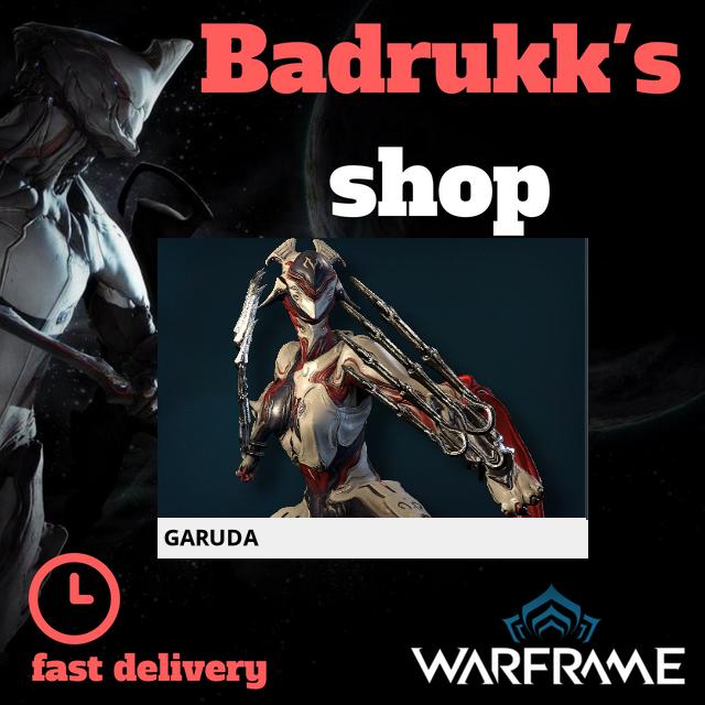 [PC/Steam] Garuda Warframe + Slot + Orokin Reactor // Fast delivery!