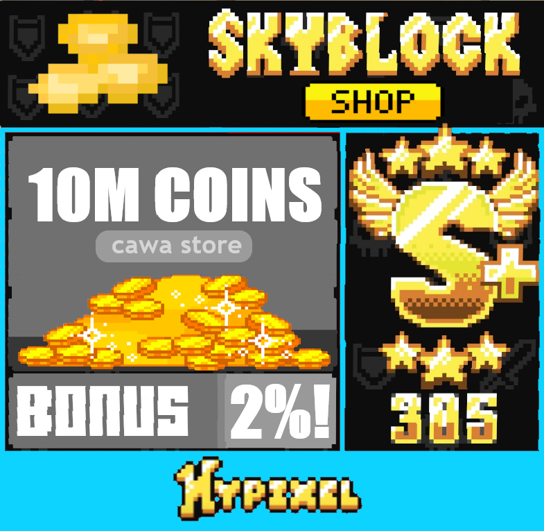 2,58 = 10 Million coins ! Cawa's Store! Fast Service !