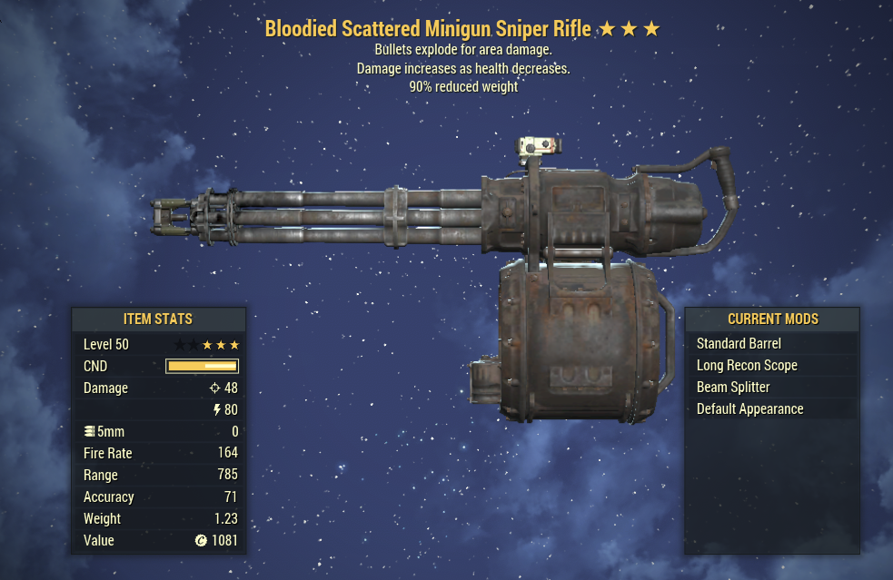 [PC] GLITCH Weapon (28 Types) SCREENSHOTS IN DESCRIPTION [HUGE DAMAGE AND RANGE]