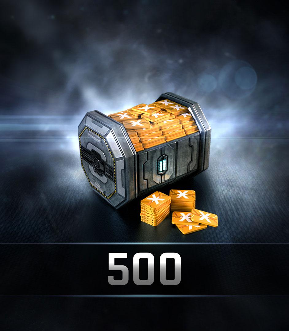 EVE 500 PLEX PACK, 2500x minimum