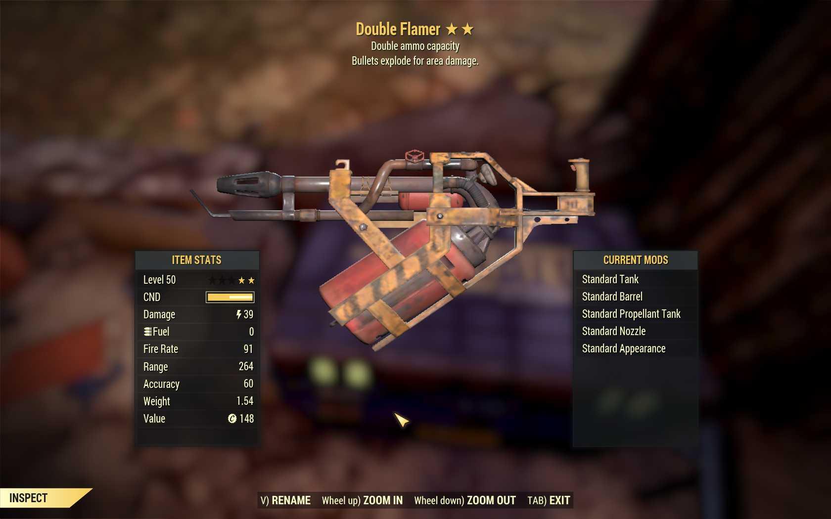 [2 Stars]Double+Explosive Flamer - Legacy
