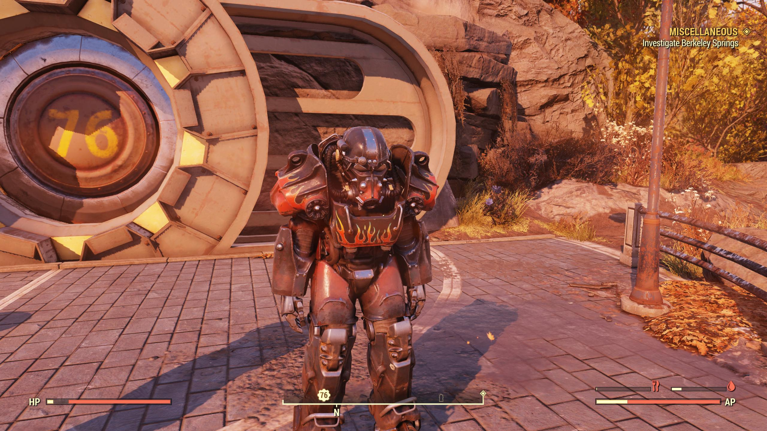 ★★★ Unyielding Sentinel T-60 Power Armor SET[6/6 AP refresh]   Atom Cats Paint   FULLY MODIFIED  