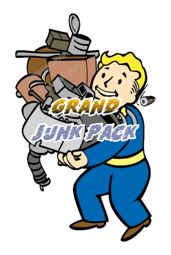 Grand junk pack [120.000 each junk + 25.000 each flux]