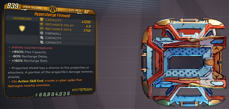 ★★★[PC] M10 - FIREWALL 43.000 SHIELDS - (FAST RECHARGE DELAY, PROJECTED REFLECT SHIELD RESTORE SHI★★