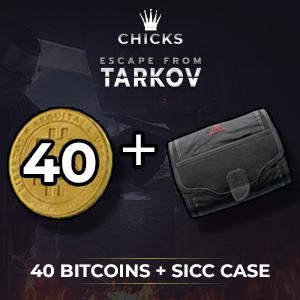 40 Bitcoins + SICC case [FAST DELIVERY]