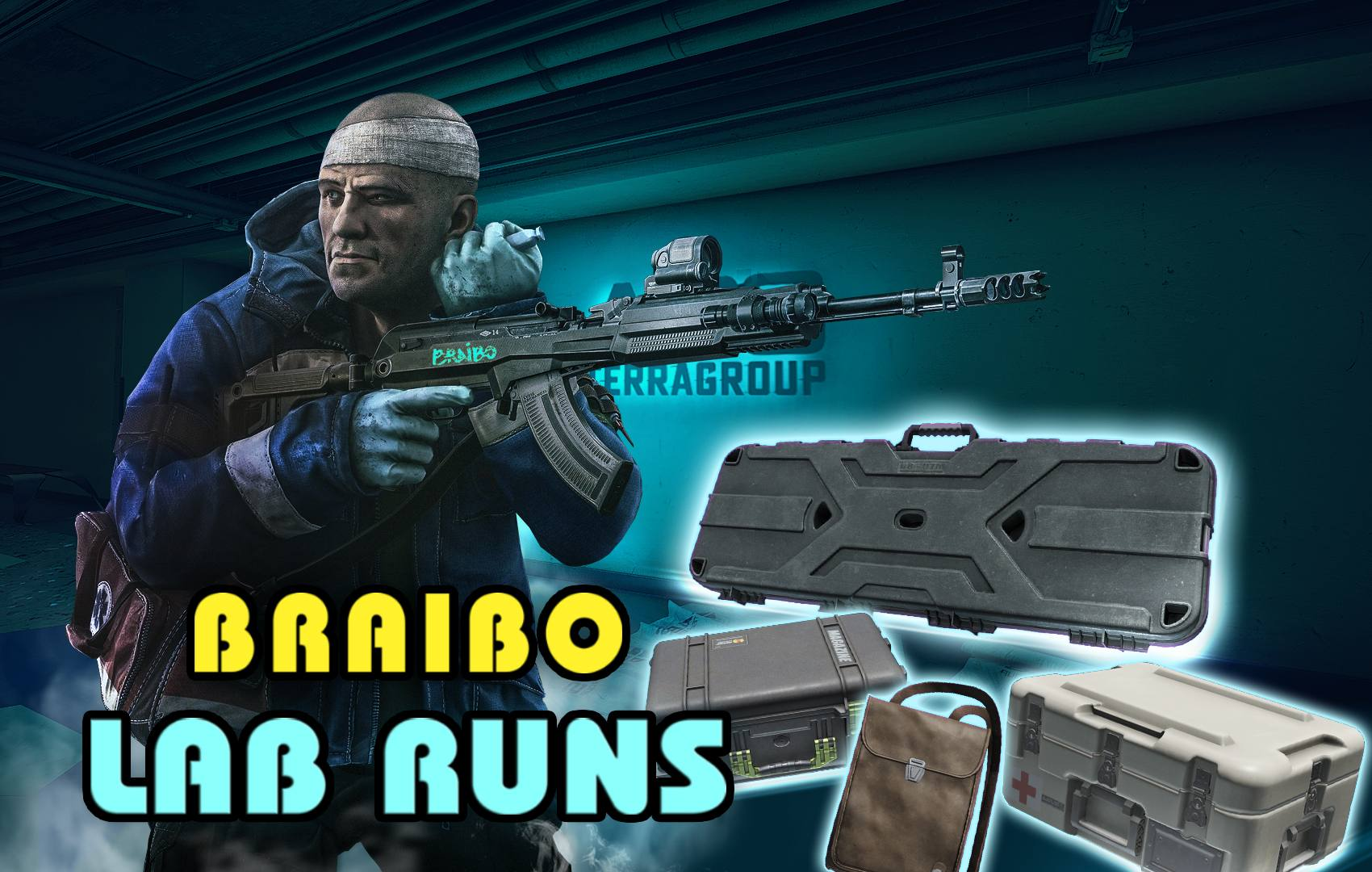 ✅ ((( LAB RUN ))) ⭐ 5mil - 25mil❤️BEST CARRY ⭐ WEAPON + GRENADE + MAGS + DOCS ✅ STREAM