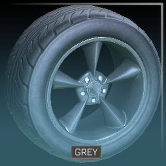 Stern (Grey) - Very Rare Wheels