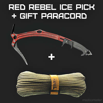 ❤️Red Rebel + Gift Paracord❤️