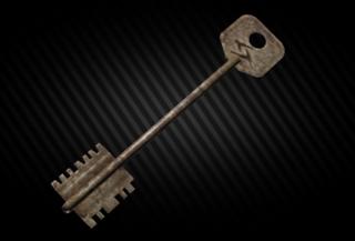 Marked key customs 25/25 [Customs]