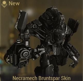 (PC) Necramech bruntspar skin (MR 2) // Instant delivery