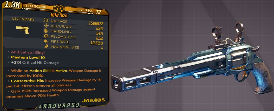 ★★★[PC/XB] M10/L72 - BITE SIZE 1.580.872 DMG - 10.5 FIRE RATE - 0.9s RELOAD - ANOINTED x2★★★