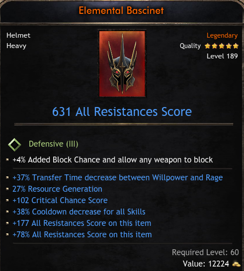 ★★★HELM 631 RES (37% transfer time, 27% reso gen, 102 crit hit, 38% cd) - INSTANT DELIVERY★★★
