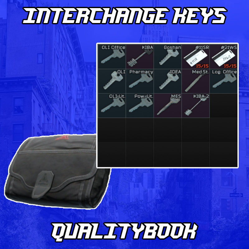 ⚜️All interchange keys + Small S I C C case (14 Keys)⚜️12.11