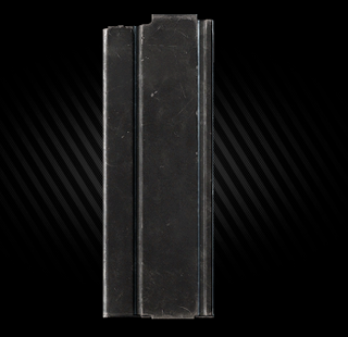 Magazine case + 24 30 round 7.62x51 magazine
