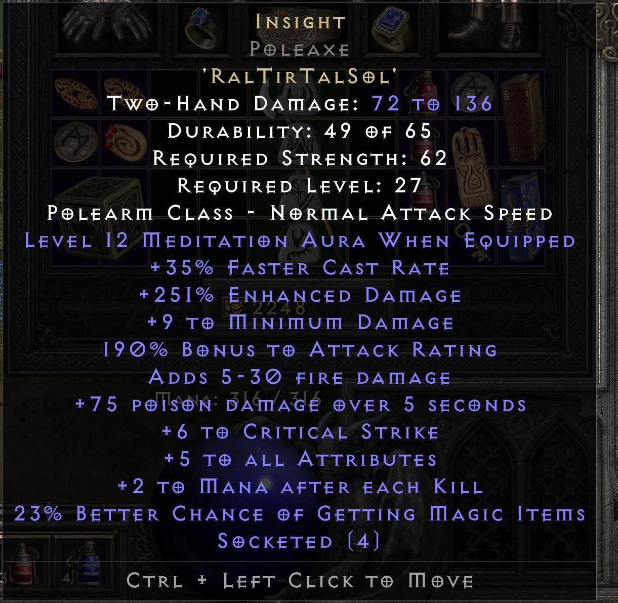 Insight - Poleaxe