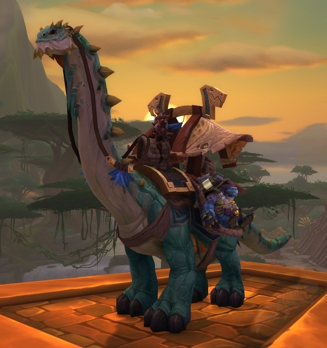 Long Boi mount - EU wow realms /// Reins of the Mighty Caravan Brutosaur