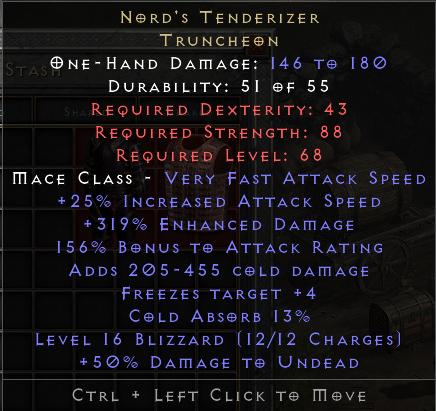 Nord's Tenderizer