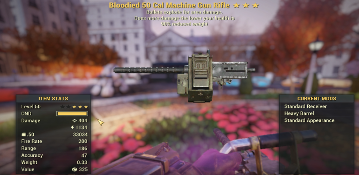 ⚡⚡⚡ [GLITCH WEAPON] Bloodied Explosive .50 CAL [2.000 DAMAGE] [VIDEO DESCRIPTION]