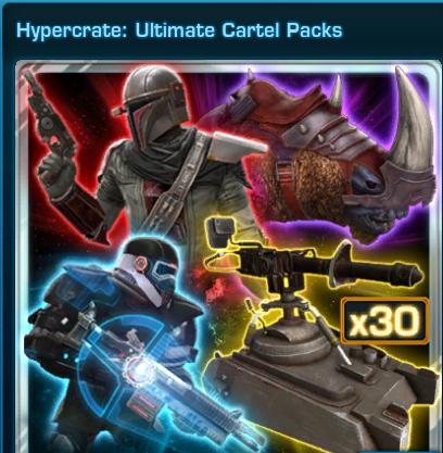 Hypercrate: Ultimate Cartel Pack US