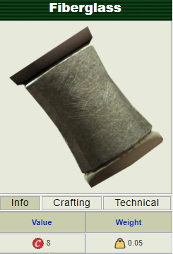 (PC) Fiberglass spool [1000 pieces]