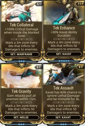 [PC/Steam] Tek mod set (collateral, enhance, gravity, assault) // Fast delivery!